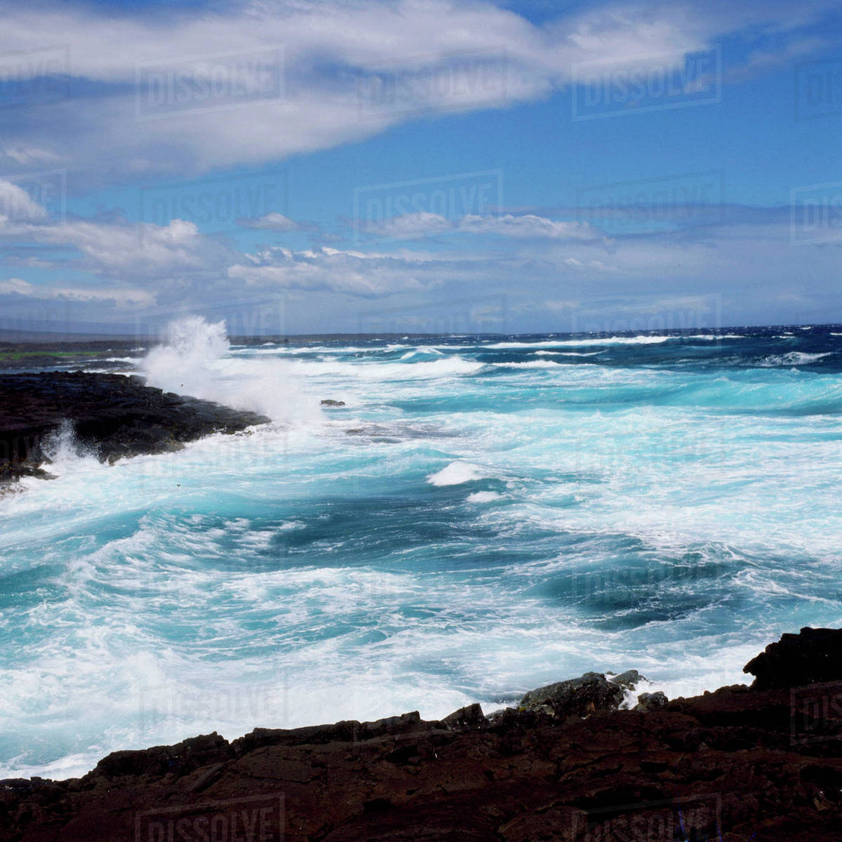 Coast of Hawaii's Big Island Royalty-free stock photo