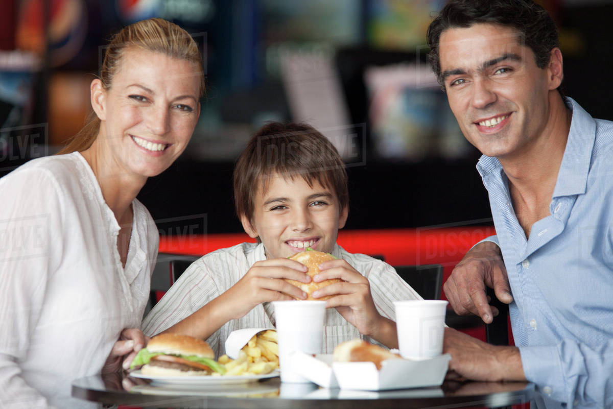 fast food restaurants and our eating